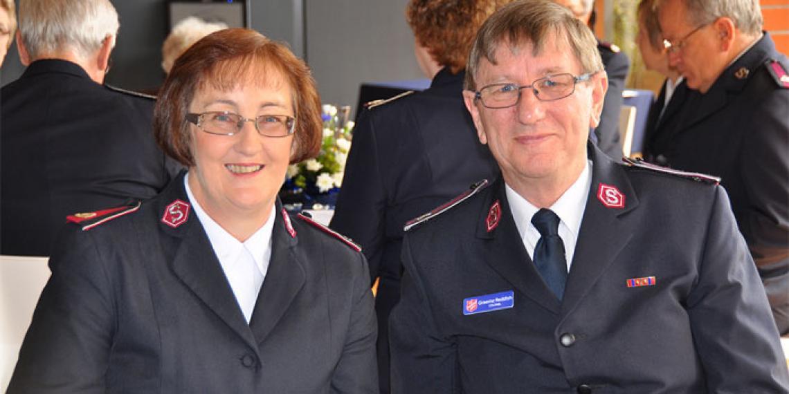 Colonels Wynne and Graeme Reddish